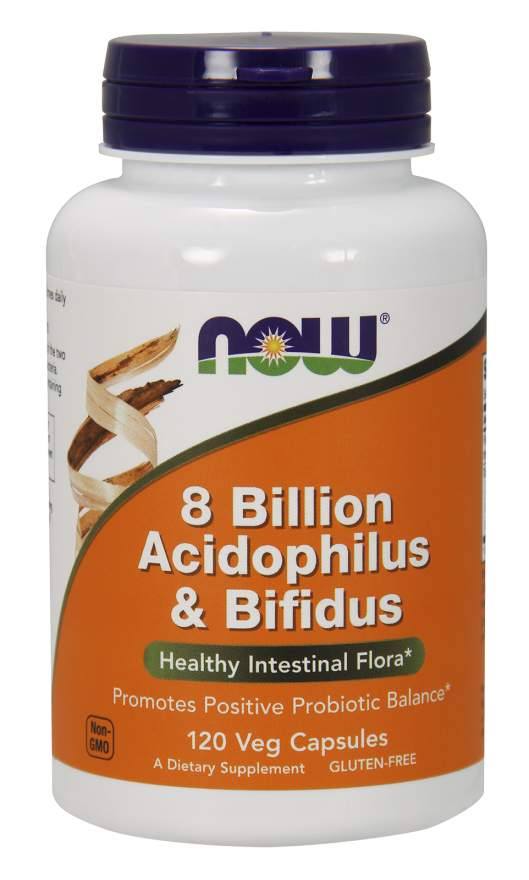 Acidophilus and Bifidus 8 Billion - 120 Caps