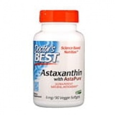 Astaxanthin with AstaPure - 6mg - 90 veggie softgels DrBest