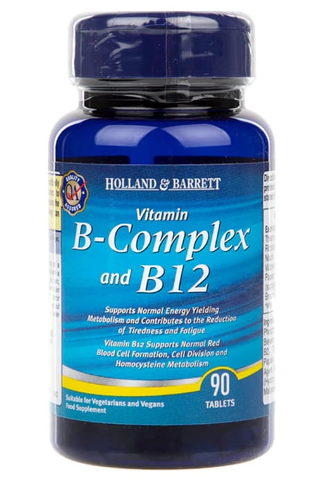 B Complex & B12 - 90 tablets Holland & Barrett