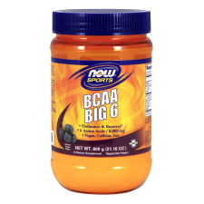 BCAA Big 6 Powder grapeflavor 600g Nowfoods