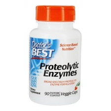 Best Proteolytic Enzymes - 90 veggie caps DrBest