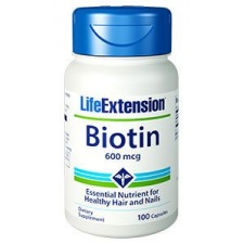 Biotyna Biotin 600 mcg 100 kaps LifeExtension
