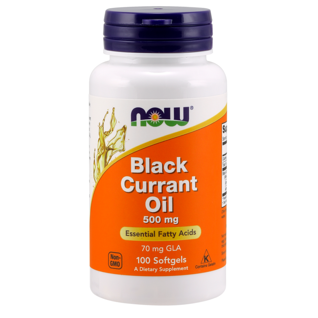 Black Currant Oil, 500mg - 100 softgels NOWFOODS