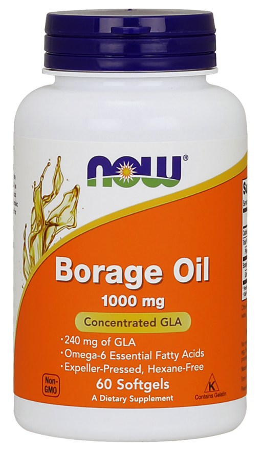 Borage Oil 1050 mg - 240 mg GLA - 60 kapsułek