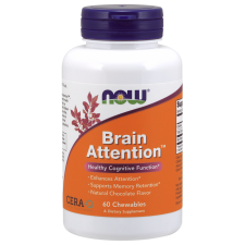 Brain Attention - 60 chewables Nowfoods
