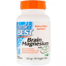 Brain Magnesium with Magtein, 75mg - 60 vcaps DrBest
