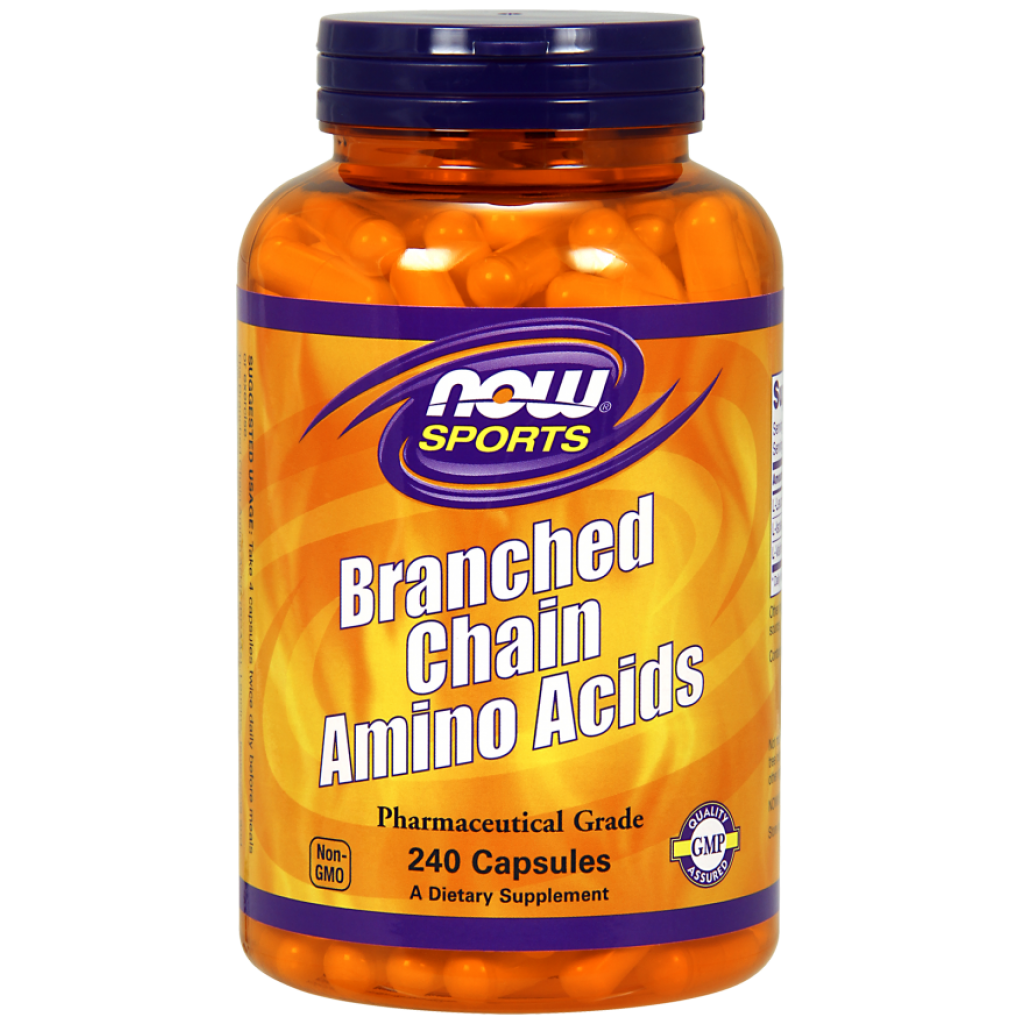 Branched Chain Amino Acids, Capsules - 240 caps NOWFOODS