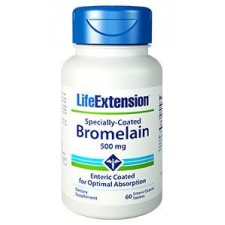 Bromelaina Specialy-Coated 60 tabl. LifeExtension