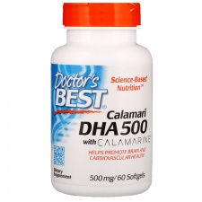 Calamari DHA 500 with Calamarine, 500mg - 60 softgels DrBest
