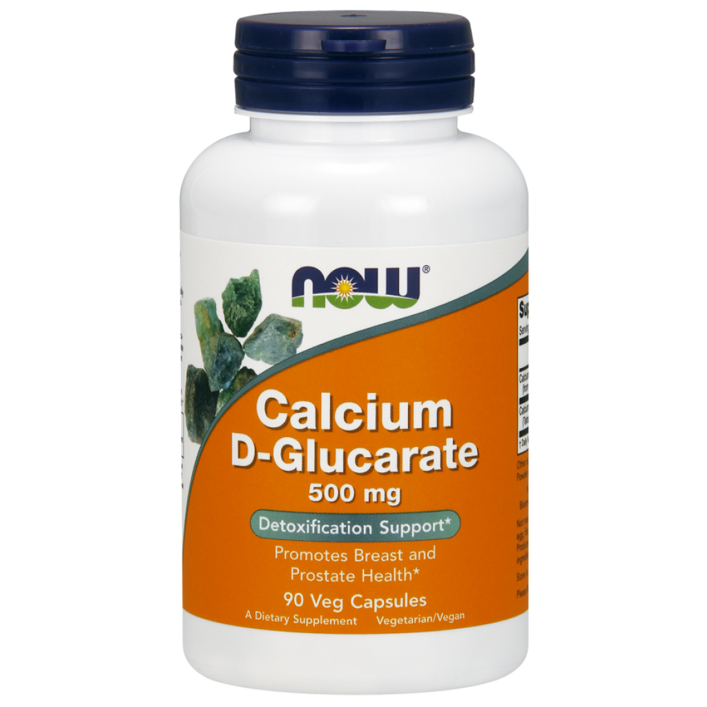 Calcium D-Glucarate, 500mg - 90 vcaps NOWFOODS