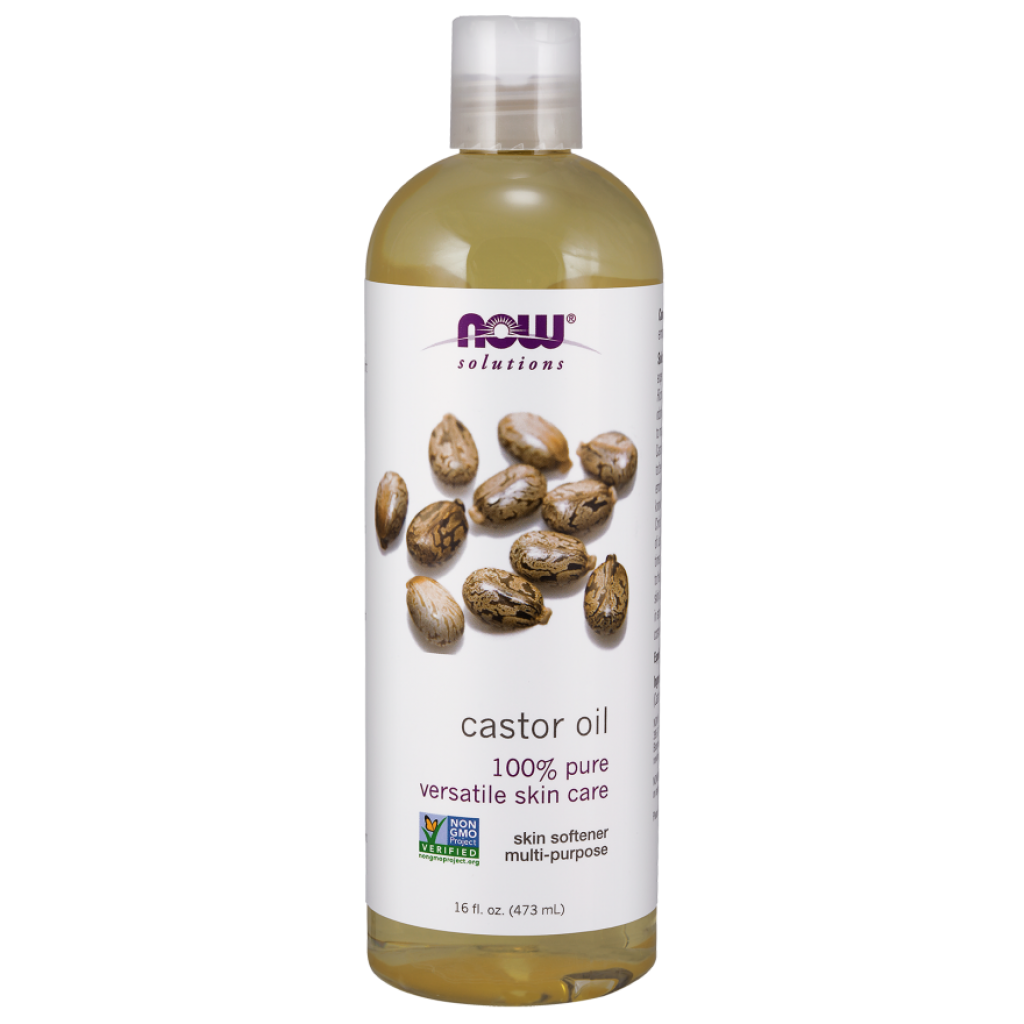 Castor Oil, Liquid - 473 ml. NOWFOODS