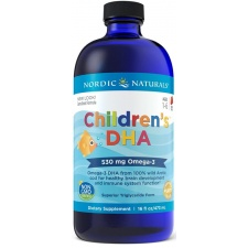 Children's DHA, 530mg Strawberry - 473 ml. Nordic Naturals