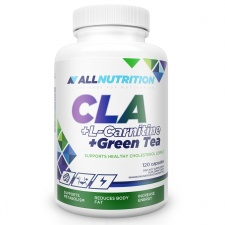 CLA + L-CARNITINE + GREEN TEA 120 kap ALLNUTRITION