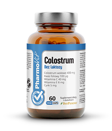 Colostrum Bez laktozy Clean Label