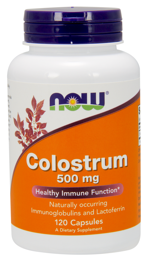 ​NOWFOODS Colostrum 500mg - 120vcaps