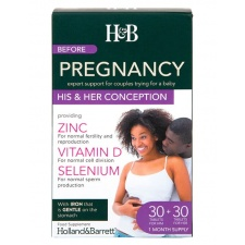 Conception Her - przed ciążą 30+30 tablets Holland & Barrett