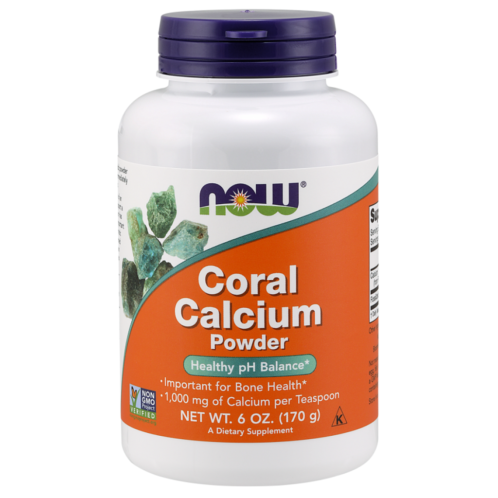 Coral Calcium, 3000mg (Powder) - 170g NOWFOODS