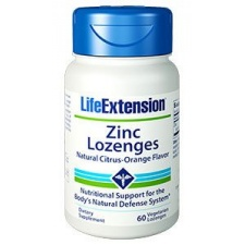 Cynk Zinc Lozenges do ssania 60 pastyl LifeExtension