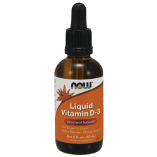 NOW FOODS Witamina D3 400IU Liquid - 60ml