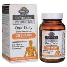 Dr. Formulated Probiotics Once Daily - 30 vcaps  Garden of life