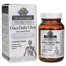 Dr. Formulated Probiotics Once Daily Ultra - 30 vcaps  Garden of life