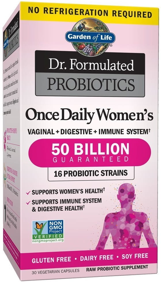 Dr. Formulated Probiotics Once Daily Women\'s - 30 vcaps Garden of life