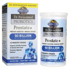 Dr. Formulated Probiotics Prostate+ - 60 vcaps Garden of life
