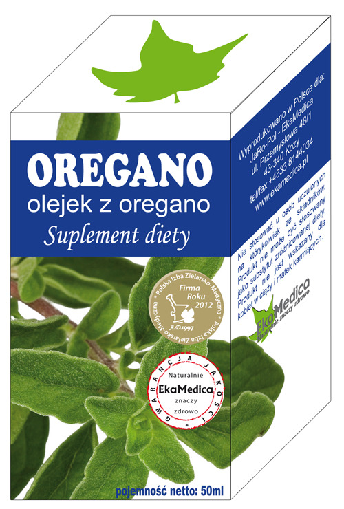 Oregano olejek 50ml