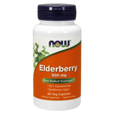 Elderberry, 500mg - 60 vcaps NOWFOODS