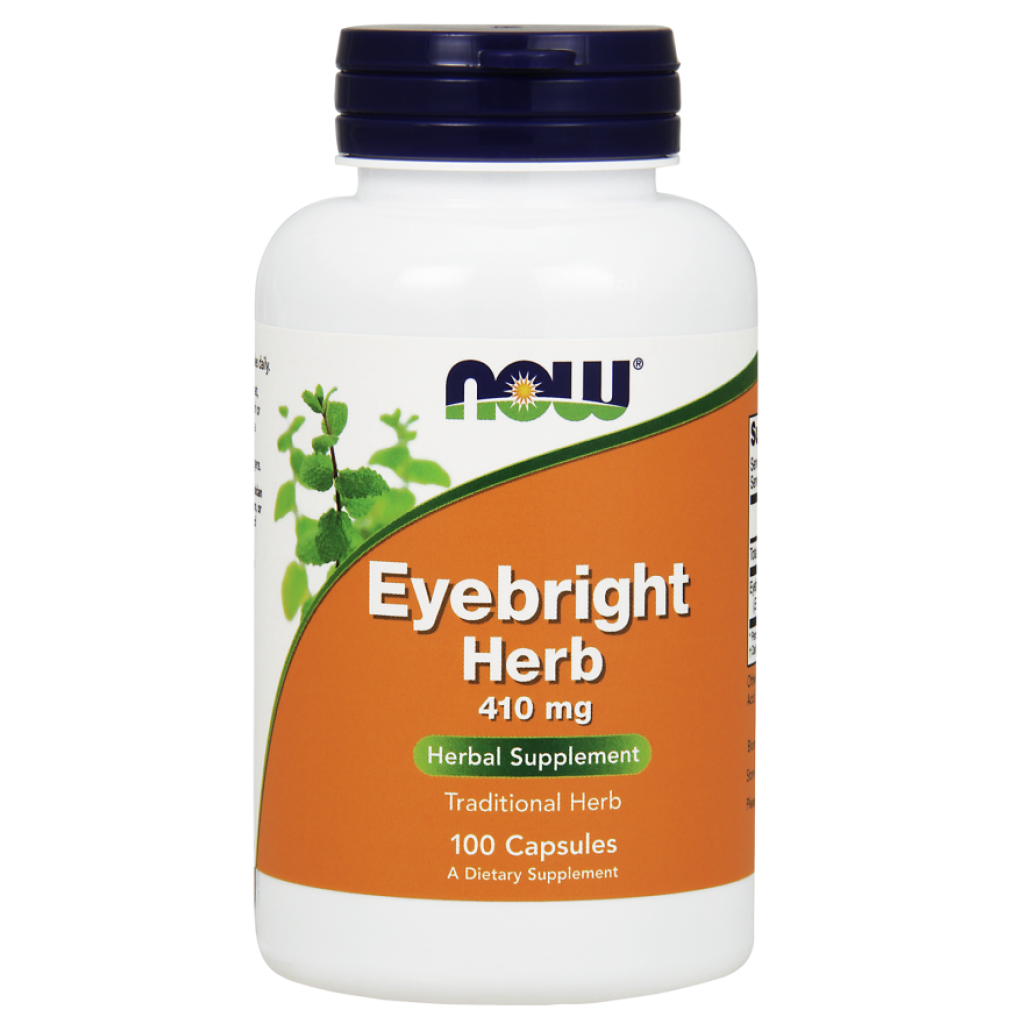 Eyebright Herb, 410mg - 100 vcaps NOWFOODS