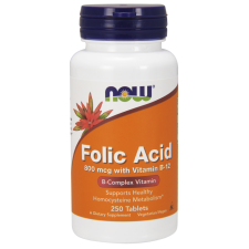 ​NOW FOODS Folic Acid 800mcg - 250tabs