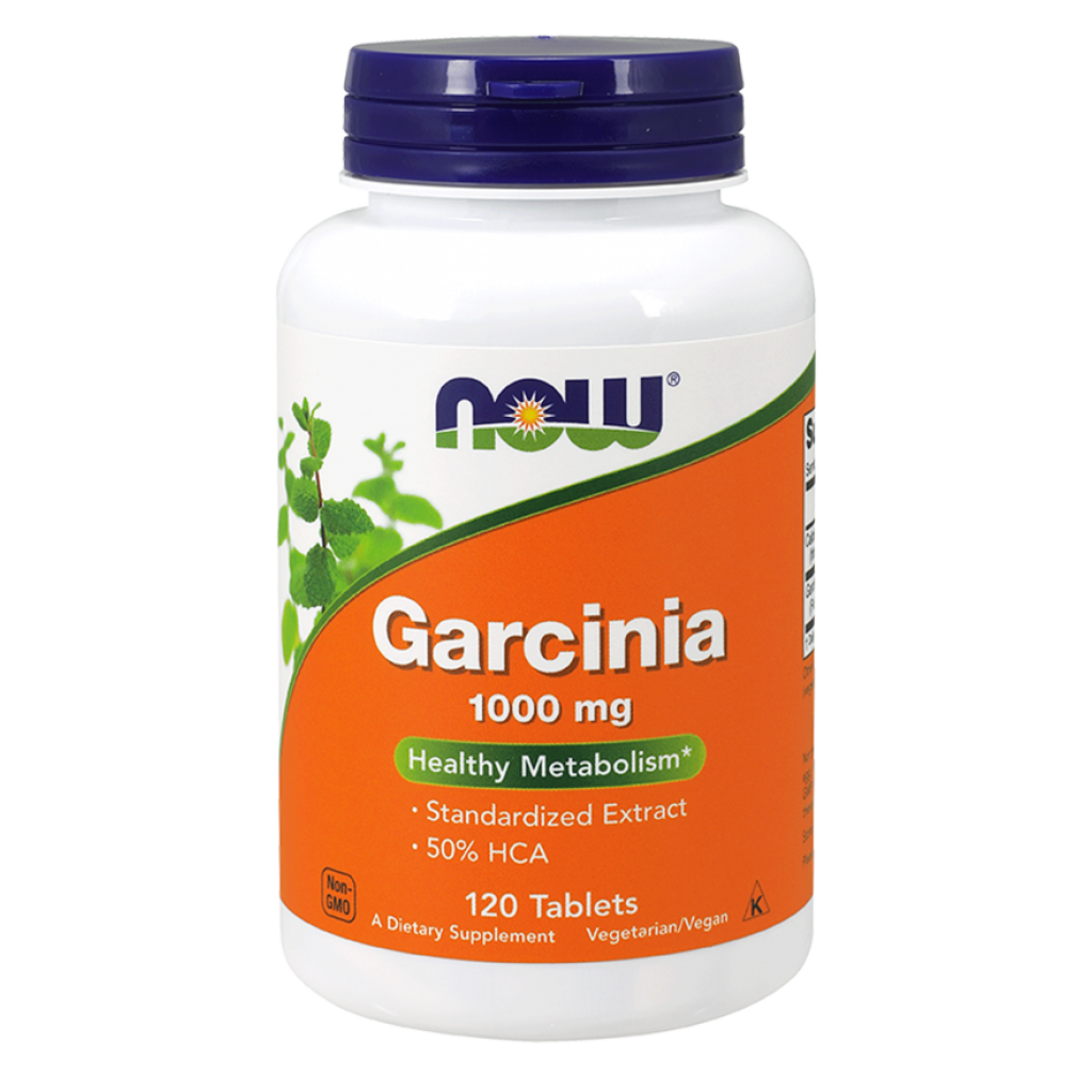 Garcinia, 1000mg - 120 tablets NOWFOODS