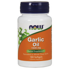 Garlic Oil, 1500mg - 100 softgels NOWFOODS