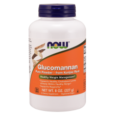 Glucomannan from Konjac Root, Pure Powder - 227 grams Nowfoods