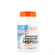 Glucosamine Chondroitin MSM with OptiMSM - 120 caps DrBest