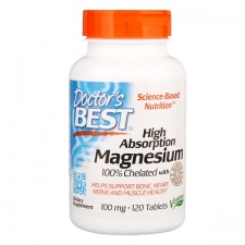 High Absorption Magnesium - 100mg - 120 tablets DrBest