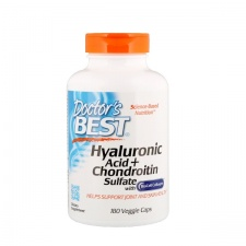 Hyaluronic Acid + Chondroitin Sulfate with BioCell Collagen - 180 caps DrBest