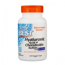 Hyaluronic Acid + Chondroitin Sulfate with BioCell Collagen - 60 tablets DrBest