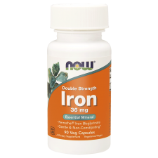 Iron 36 mg Double Strength – 90kaps Nowfoods