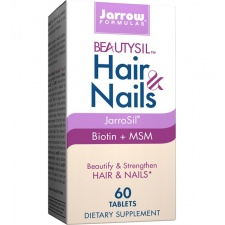 JARROW BeautySil Hair & Nails 60 tabletek