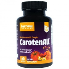 Jarrow Formulas, CarotenALL, Mixed mix korotenoidów Complex, 60 Softgels