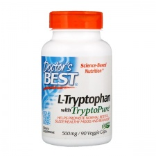 L-Tryptophan with TryptoPure, 500mg - 90 vcaps DrBest