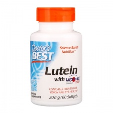 Lutein with Lutemax, 20mg - 60 softgels DrBest