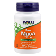 Maca RAW 750mg 30vcaps Nowfoods