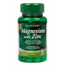 Magnez z cynkiem - 100 tablets Holland & Barrett