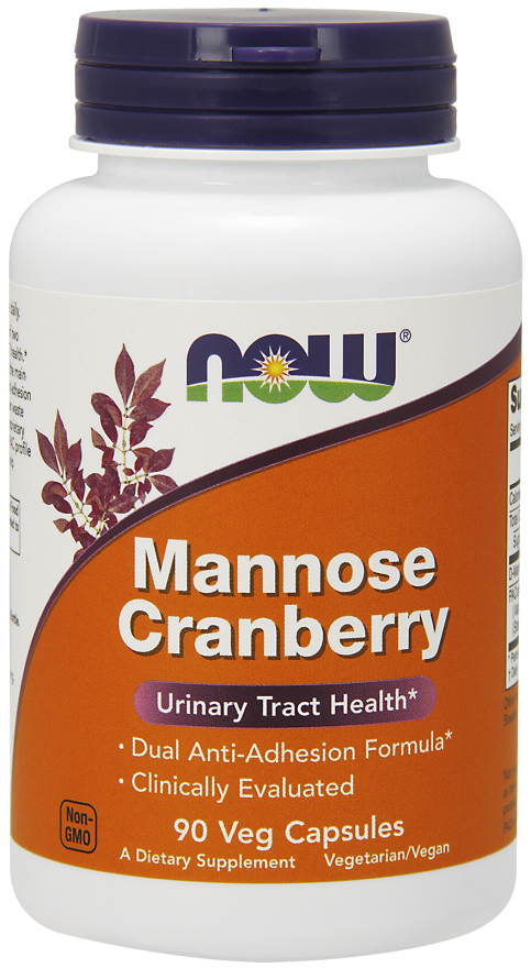 Mannose Cranberry - 90 Veg Capsules Nowfoods