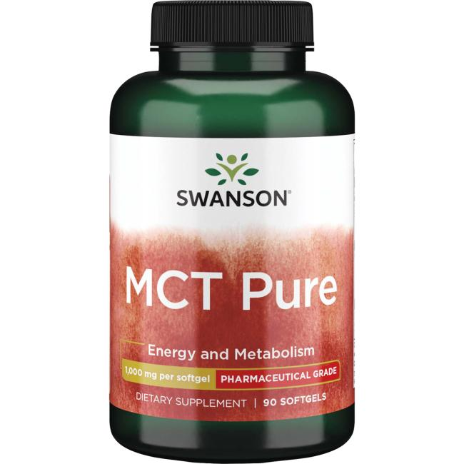 MCT Pure, 1000mg - 90 softgels Swanson