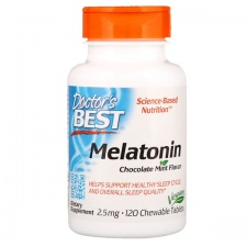 Melatonin - 2.5mg Chocolate Mint - 120 chewable tabs DrBest