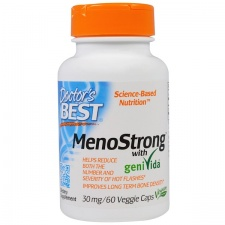 MenoStrong with geniVida, 30mg - 60 vcaps DrBest