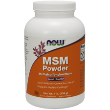 MSM Powder 454 gramy Nowfoods